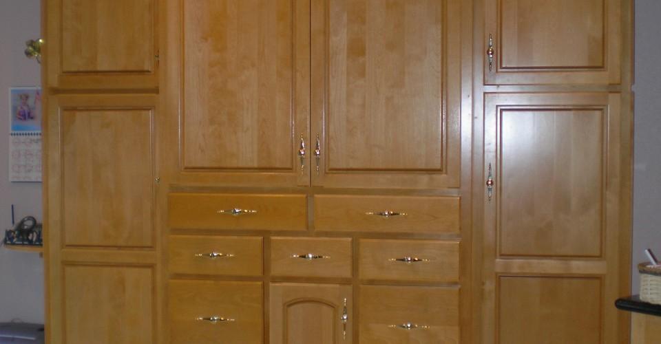 Kitchen - Birch Stained