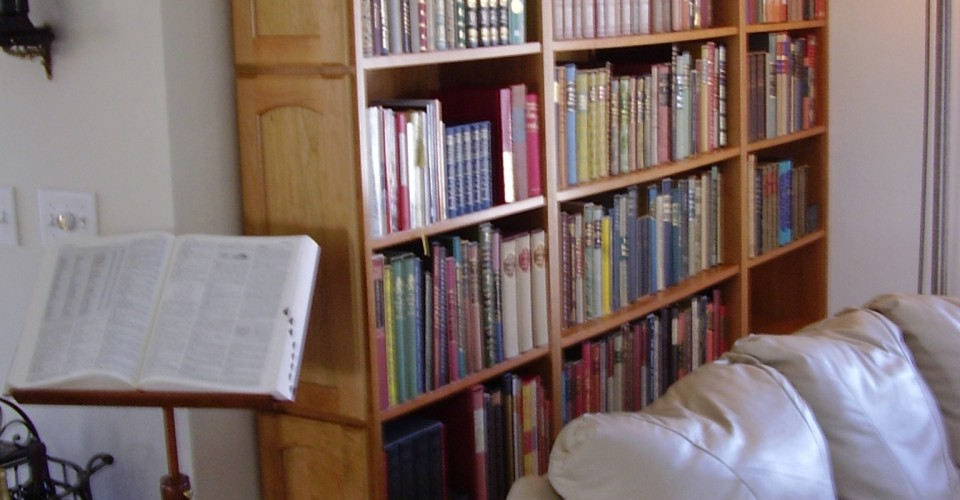 Specialty - Cherry Bookcase