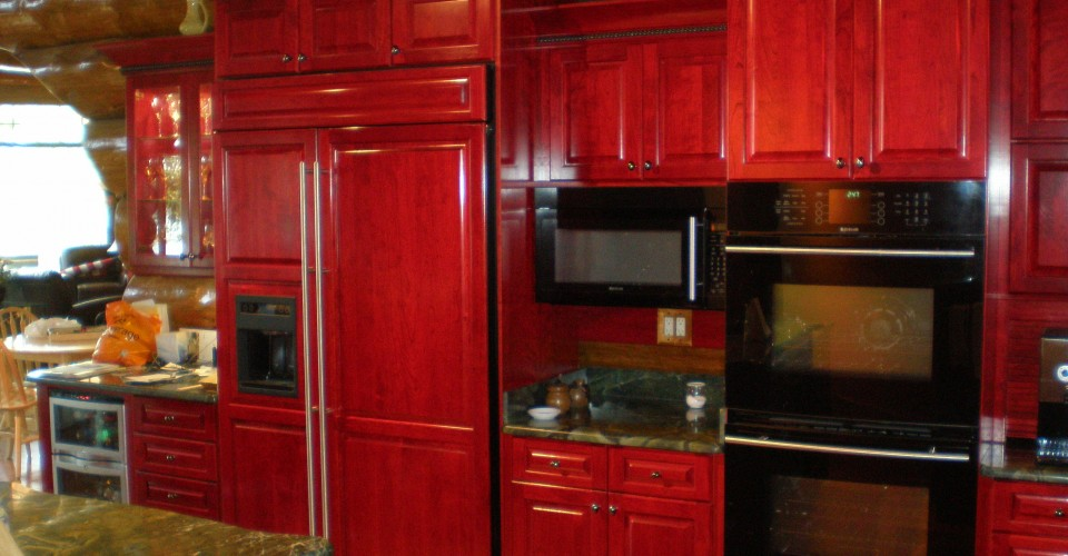 Kitchen - Cherry Dyed/Stained