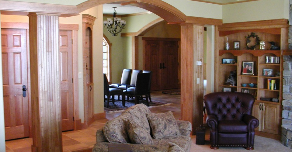 Specialty Rooms - Cherry Natural Curved Trim