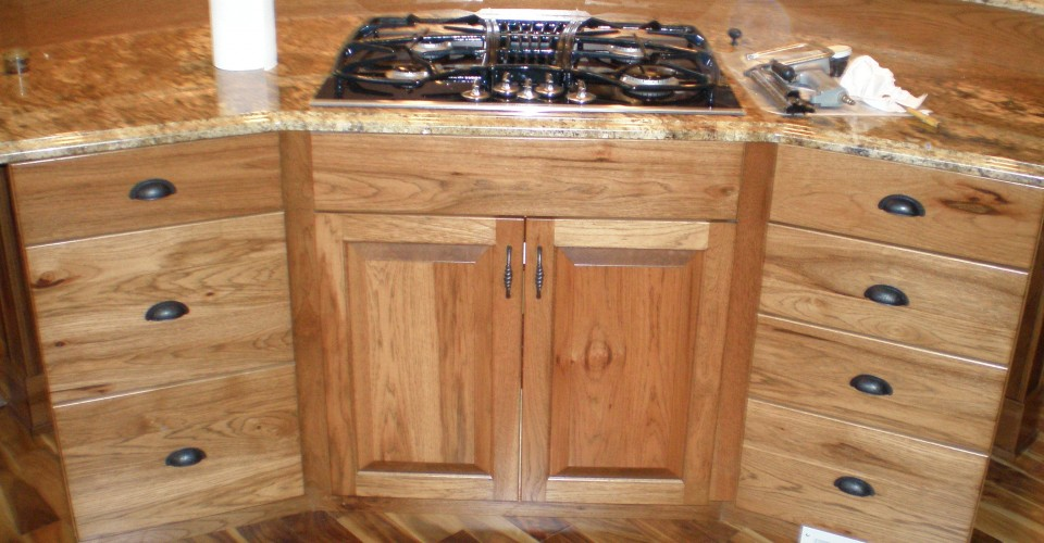 Kitchen - Hickory with Stain