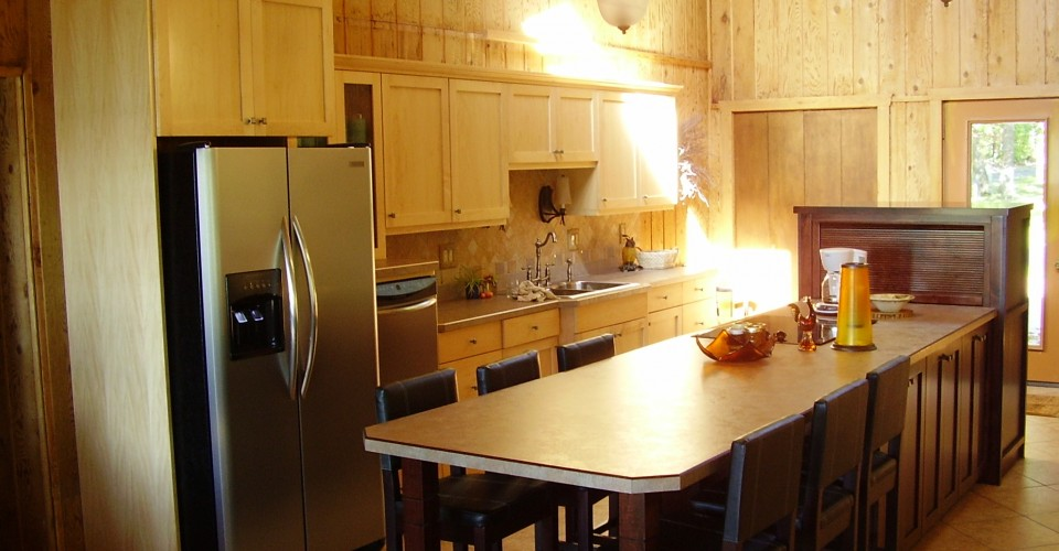Kitchen - Maple Burgundy Island
