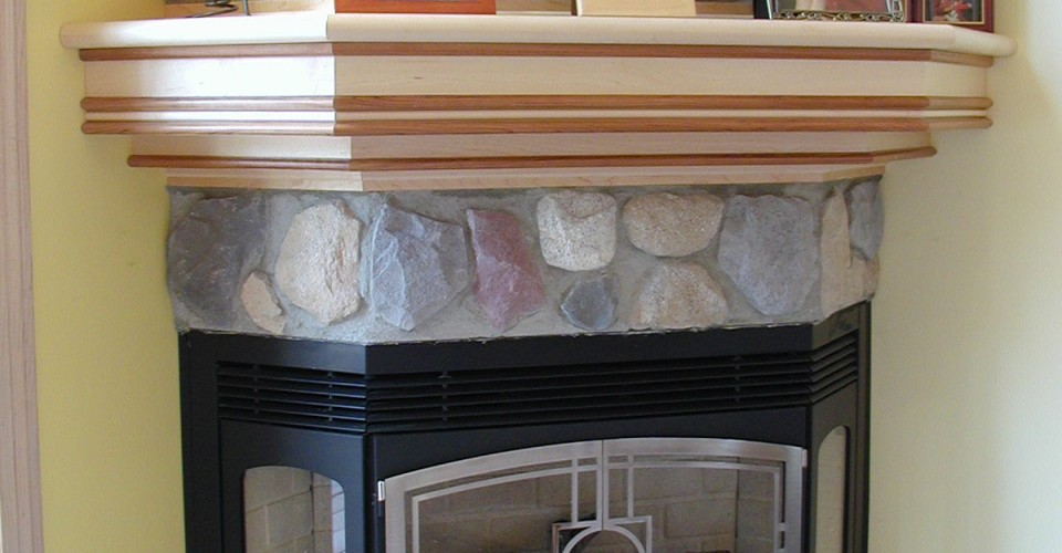 Fireplace Mantle - Maple Cherry