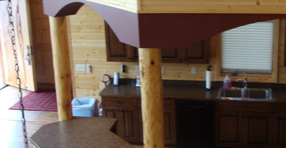 Kitchen - Maple Stained Island