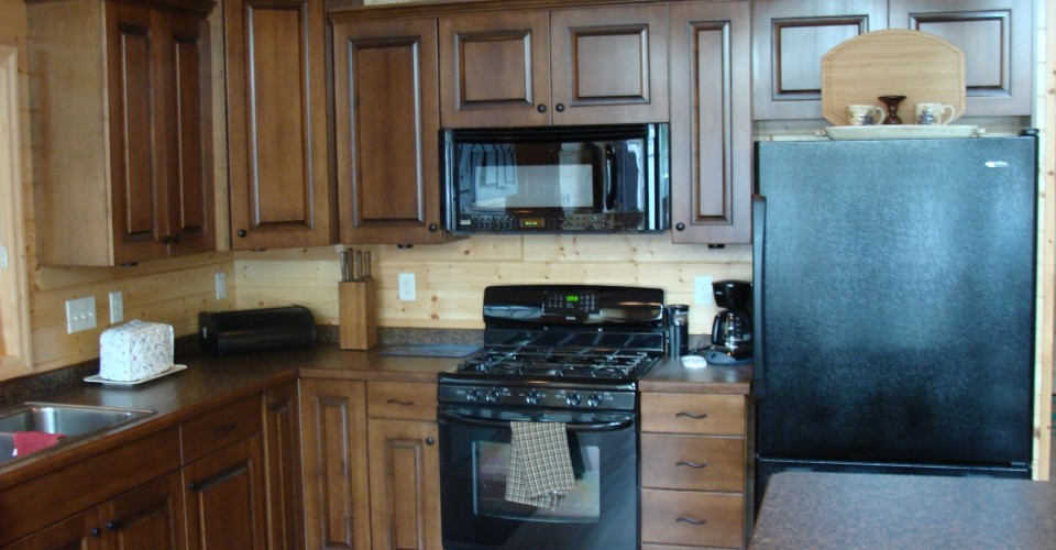 Kitchen - Maple Stained