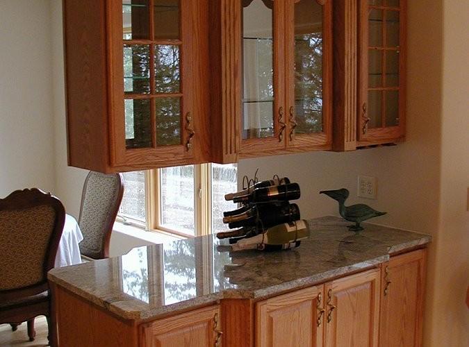 Kitchen - Oak Hutch