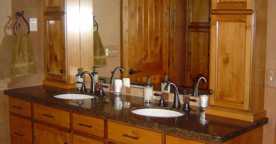 Bathroom - Alder Glazed