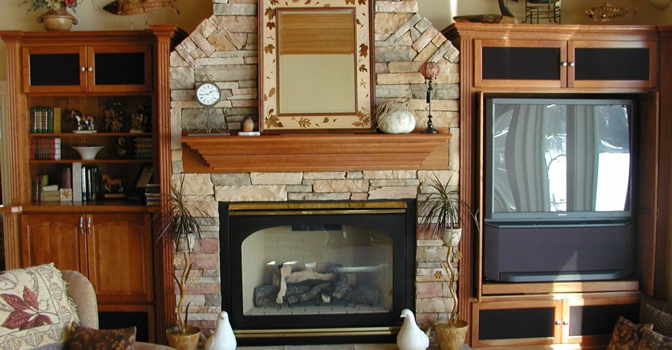 Fireplace Mantles - Cherry