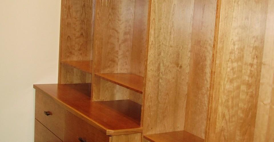 Specialty - Cherry Natural Closet