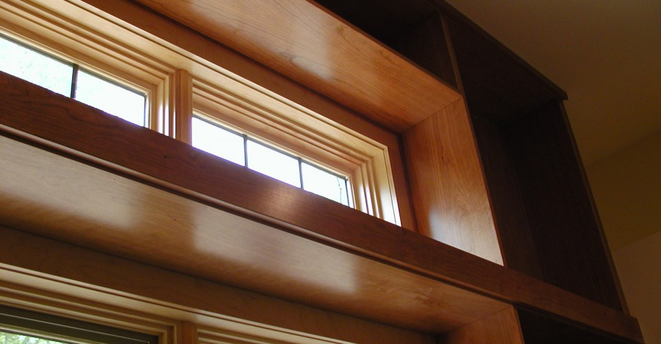Specialty Rooms - Cherry Natural Trim