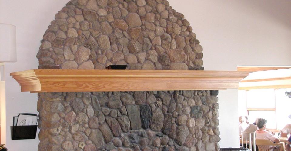 Fireplace Mantle - Fir Mantle