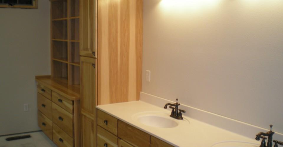 Bathroom - Hickory