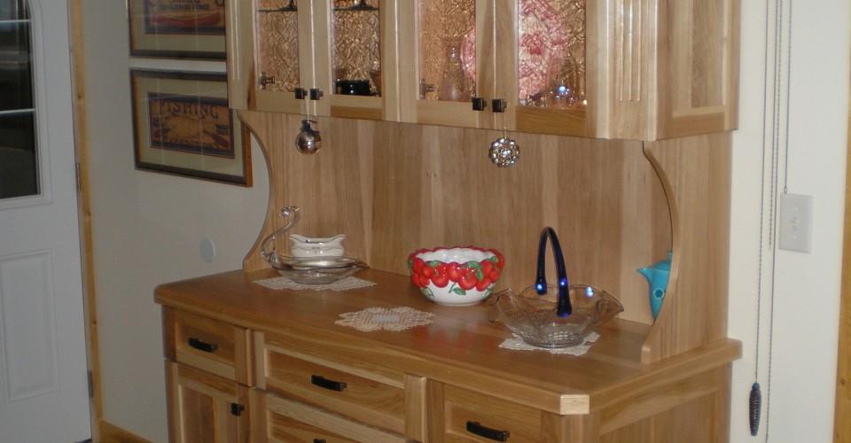 Kitchen - Hickory Hutch
