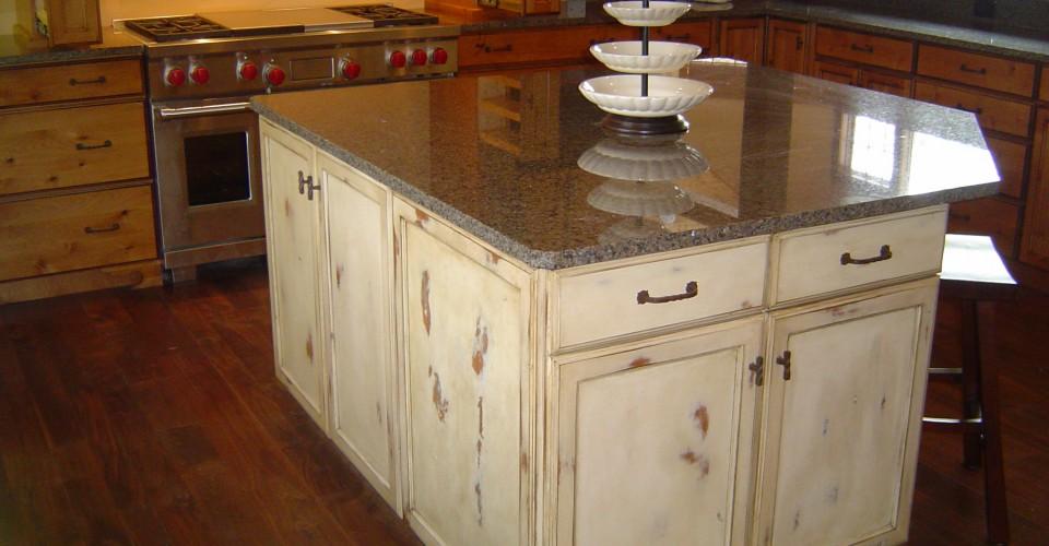 Kitchen - Knotty Alder Distressed