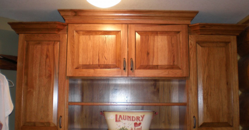 Laundry - Knotty Hickory Stained