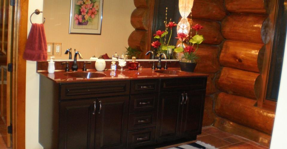 Bathroom - Maple Painted Black