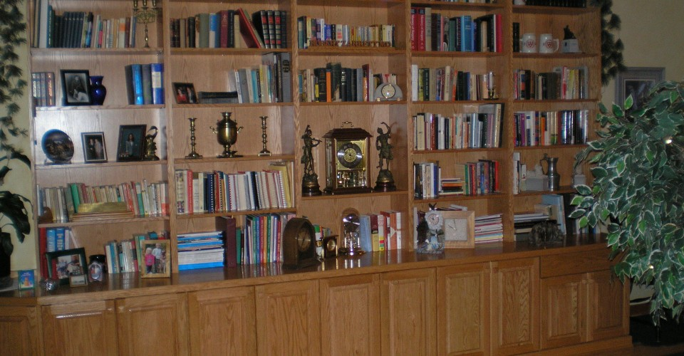 Specialty Rooms - Oak Natural Bookcase